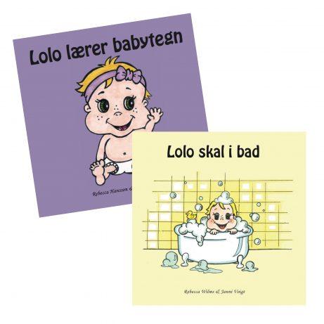 pegebøger med babytegn